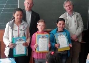 Переможці в категорії 2 і 3 розрядів (дівчата)
