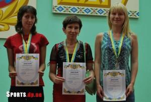 Призери Кубка України 2015 року з шашок-100