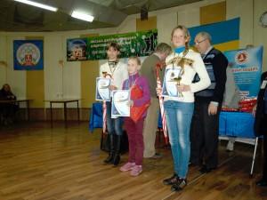 Призери дівчата до 13 років, турнір А.